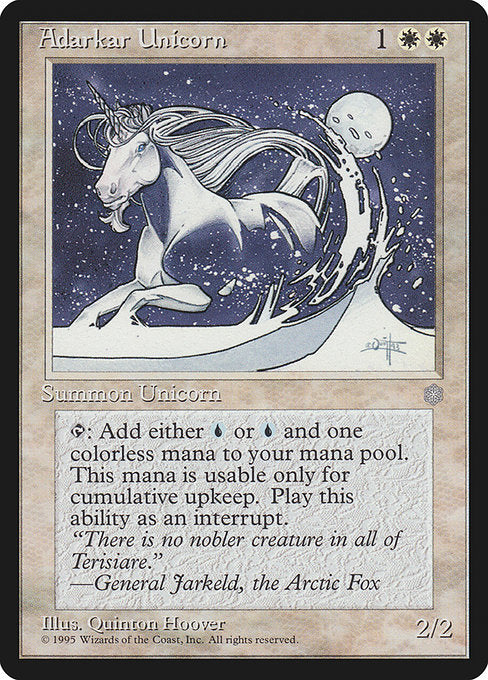Adarkar Unicorn [Ice Age]