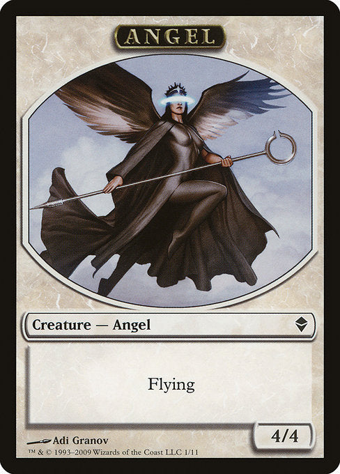 Angel [Zendikar Tokens]
