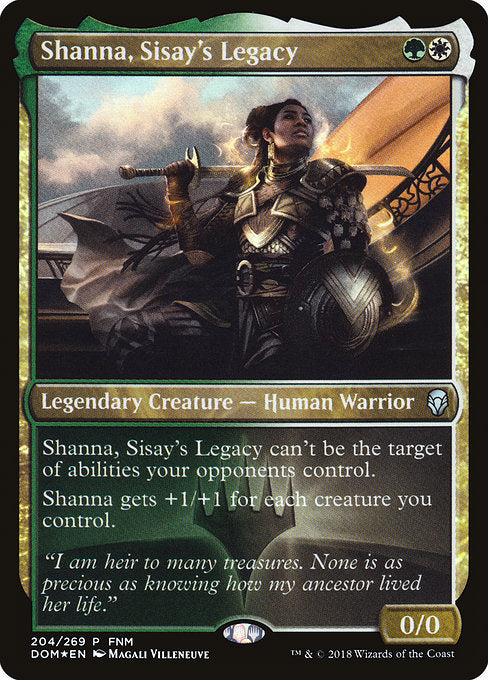 Shanna, Sisay's Legacy [Dominaria Promos]