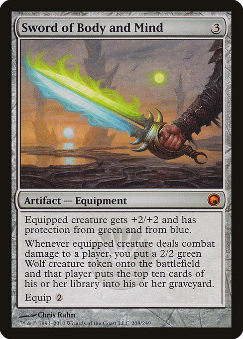 Sword of Body and Mind [Scars of Mirrodin]