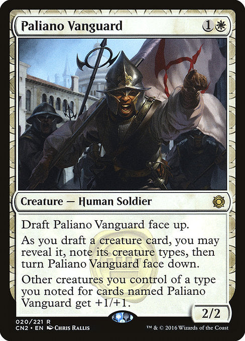 Paliano Vanguard [Conspiracy: Take the Crown]