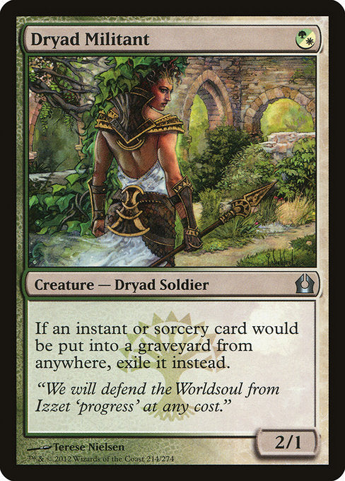 Dryad Militant [Return to Ravnica]
