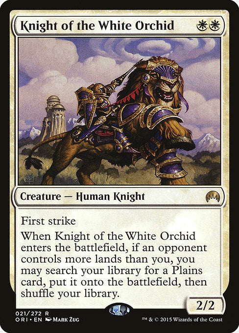 Knight of the White Orchid [Magic Origins]