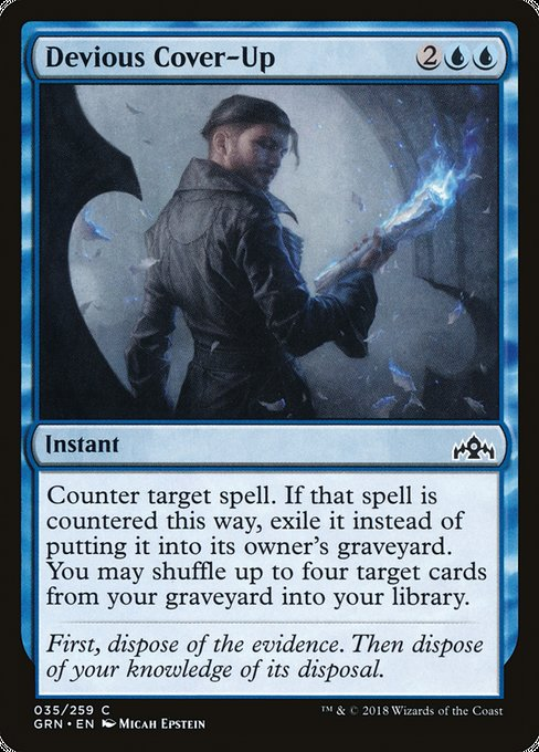 Devious Cover-up [Guilds of Ravnica]