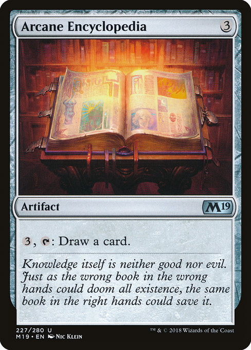 Arcane Encyclopedia [Core Set 2019]