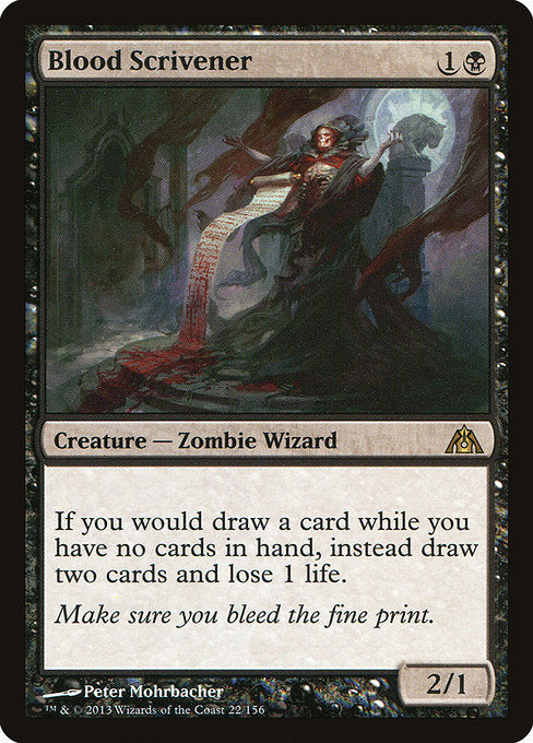 Blood Scrivener [Dragon's Maze]