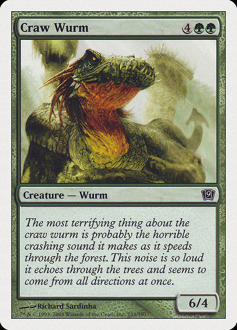 Craw Wurm [Ninth Edition]