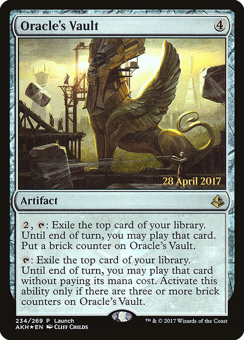Oracle's Vault [Amonkhet Promos]