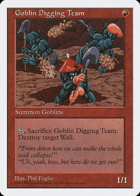 Goblin Digging Team [Fifth Edition]