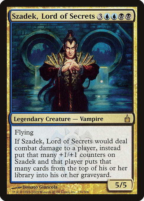 Szadek, Lord of Secrets [Ravnica: City of Guilds]