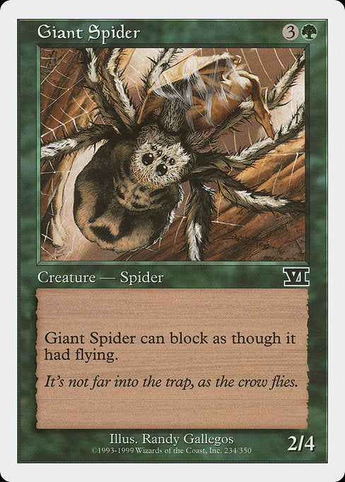 Giant Spider [Classic Sixth Edition]