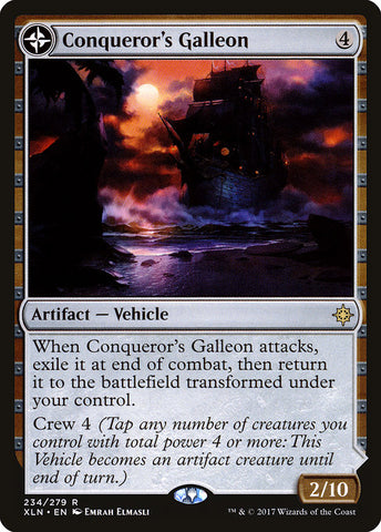 Conqueror's Galleon // Conqueror's Foothold [Ixalan]