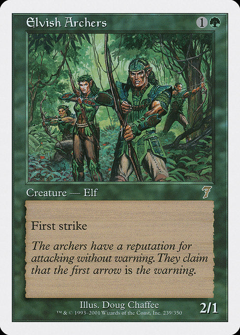 Elvish Archers [Seventh Edition]