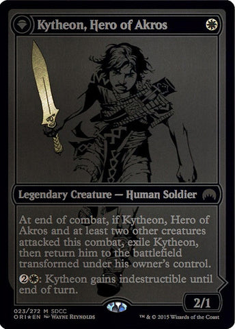 Kytheon, Hero of Akros // Gideon, Battle-Forged [San Diego Comic-Con 2015]