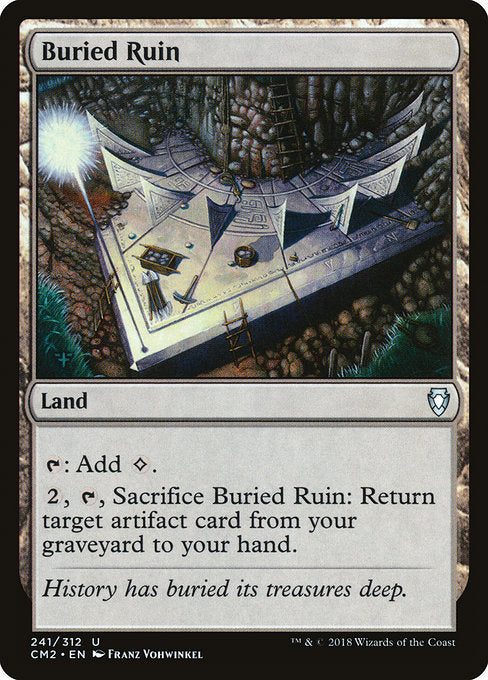 Buried Ruin [Commander Anthology Volume II]