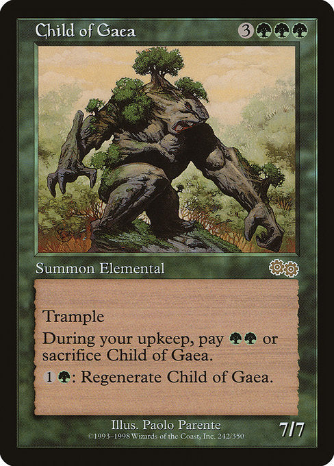 Child of Gaea [Urza's Saga]