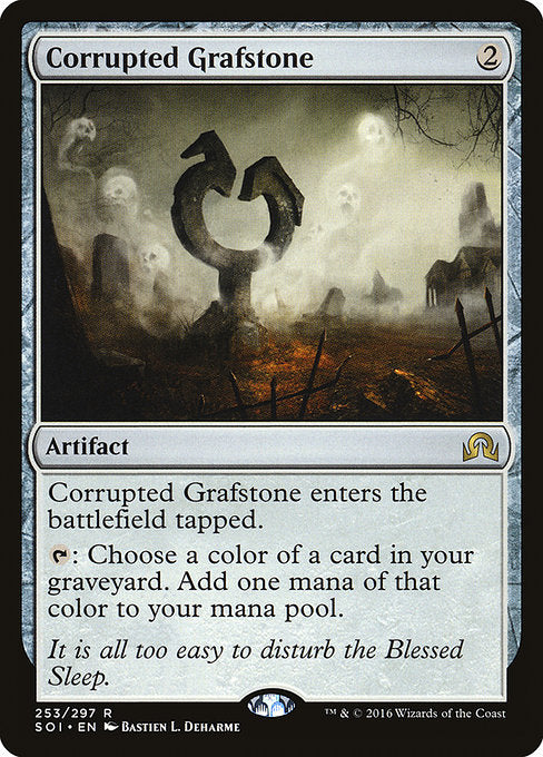 Corrupted Grafstone [Shadows over Innistrad]