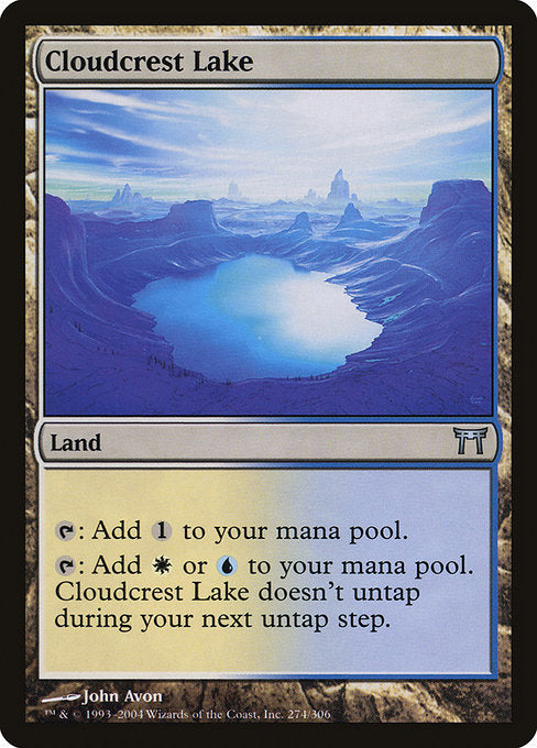 Cloudcrest Lake [Champions of Kamigawa]