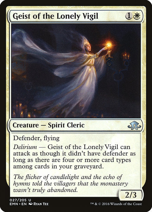 Geist of the Lonely Vigil [Eldritch Moon]