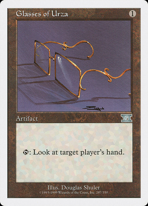Glasses of Urza [Classic Sixth Edition]