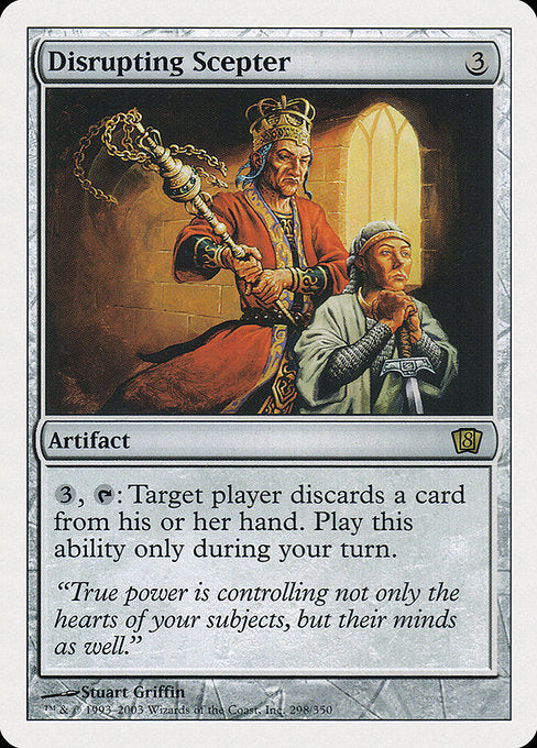 Disrupting Scepter [Eighth Edition]