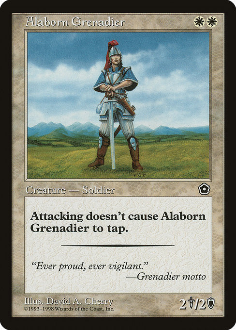 Alaborn Grenadier [Portal Second Age]
