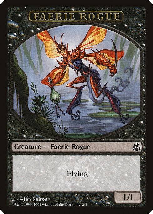 Faerie Rogue [Morningtide Tokens]