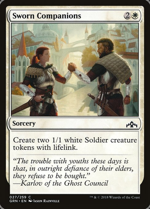 Sworn Companions [Guilds of Ravnica]