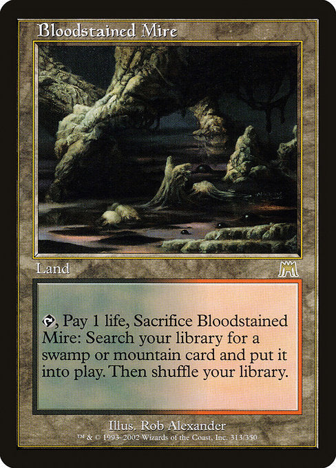 Bloodstained Mire [Onslaught]