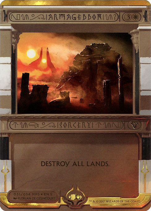 Armageddon [Amonkhet Invocations]