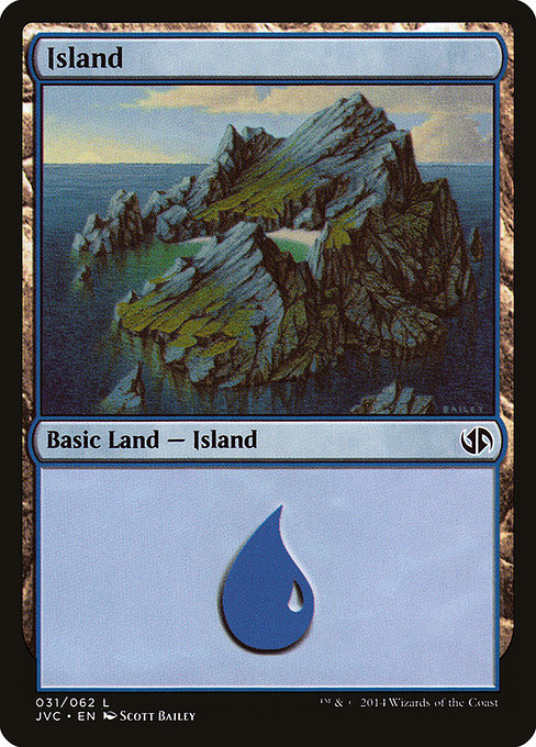 Island [Duel Decks Anthology: Jace vs. Chandra]