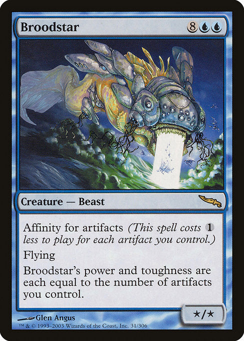 Broodstar [Mirrodin] | The Dark Side
