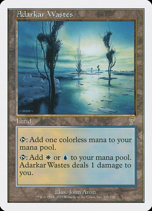 Adarkar Wastes [Seventh Edition]