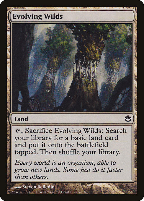 Evolving Wilds [Duel Decks: Ajani vs. Nicol Bolas]