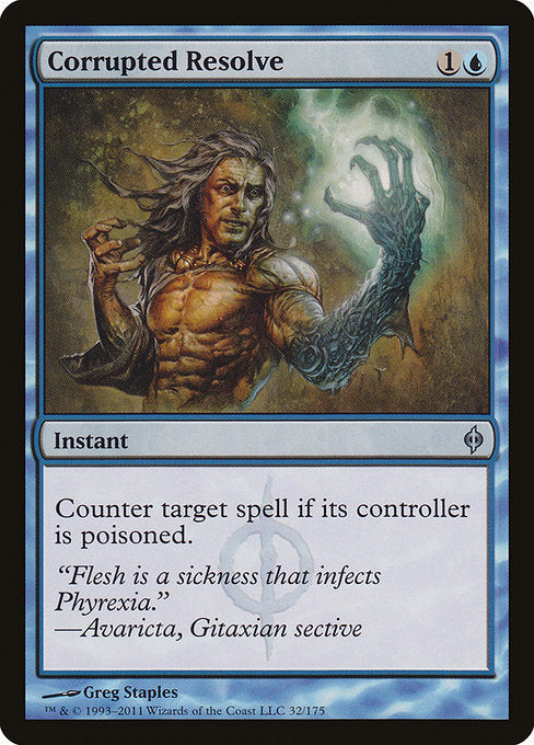Corrupted Resolve [New Phyrexia]