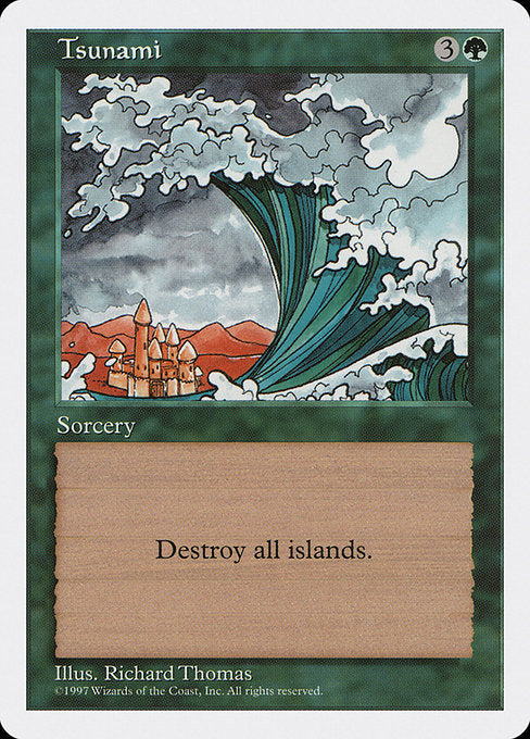 Tsunami [Fifth Edition]