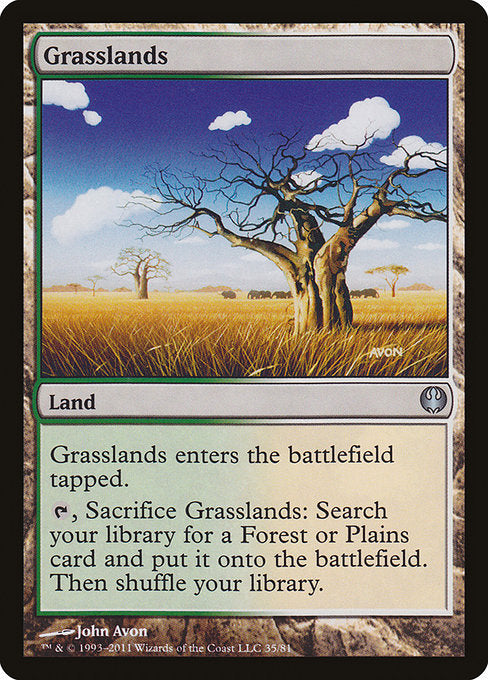 Grasslands [Duel Decks: Knights vs. Dragons]