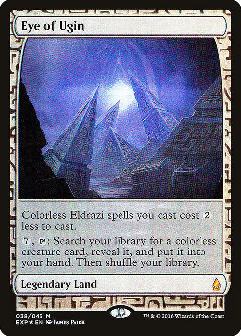 Eye of Ugin [Zendikar Expeditions]