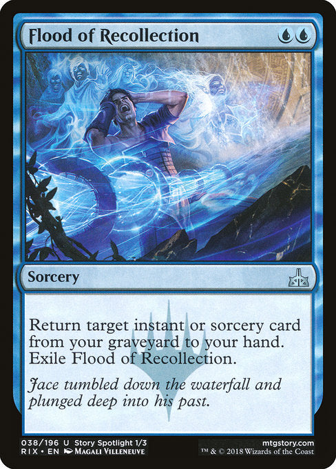 Flood of Recollection [Rivals of Ixalan]