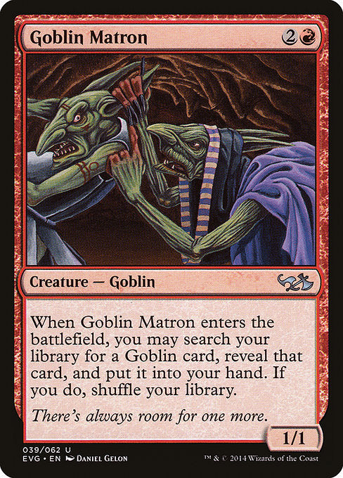 Goblin Matron [Duel Decks Anthology: Elves vs. Goblins]