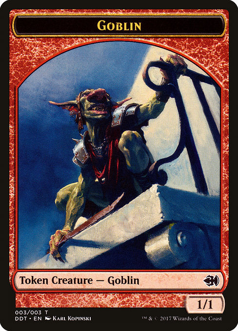 Goblin [Duel Decks: Merfolk vs. Goblins Tokens]