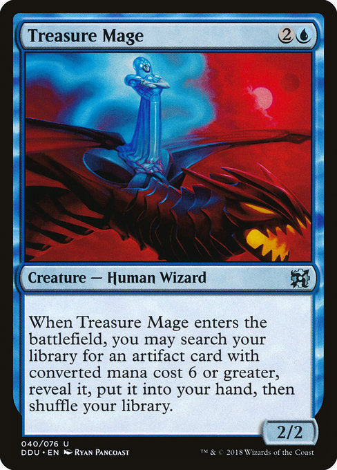 Treasure Mage [Duel Decks: Elves vs. Inventors]