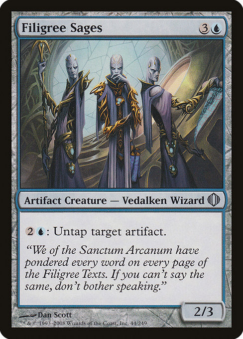Filigree Sages [Shards of Alara]