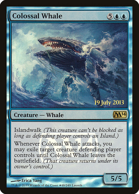 Colossal Whale [Magic 2014 Promos]