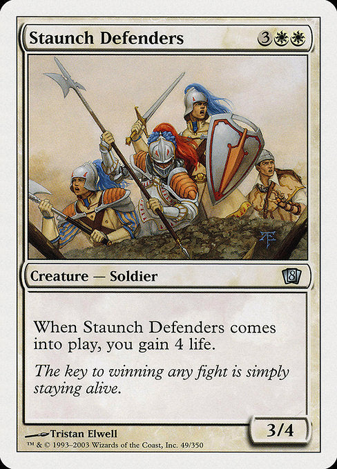 Staunch Defenders [Eighth Edition]