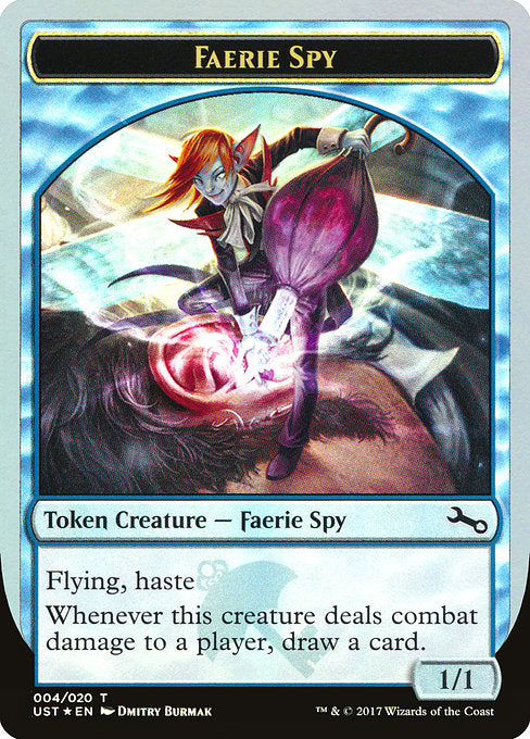Faerie Spy [Unstable Tokens]