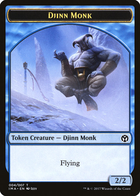 Djinn Monk [Iconic Masters Tokens]
