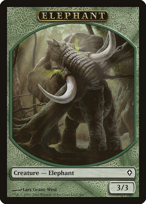 Elephant [Worldwake Tokens]