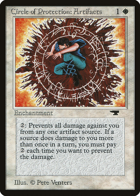 Circle of Protection: Artifacts [Antiquities]