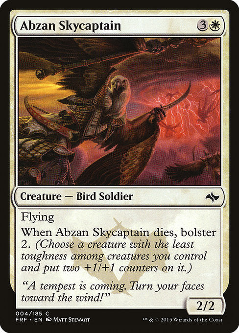 Abzan Skycaptain [Fate Reforged]